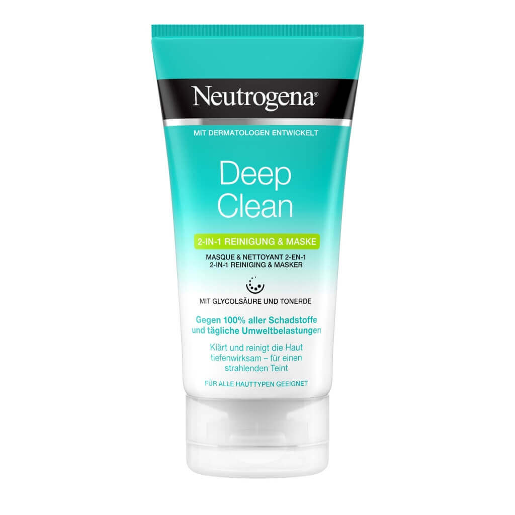 Skin Detox Masque & Nettoyant 2-En-1
