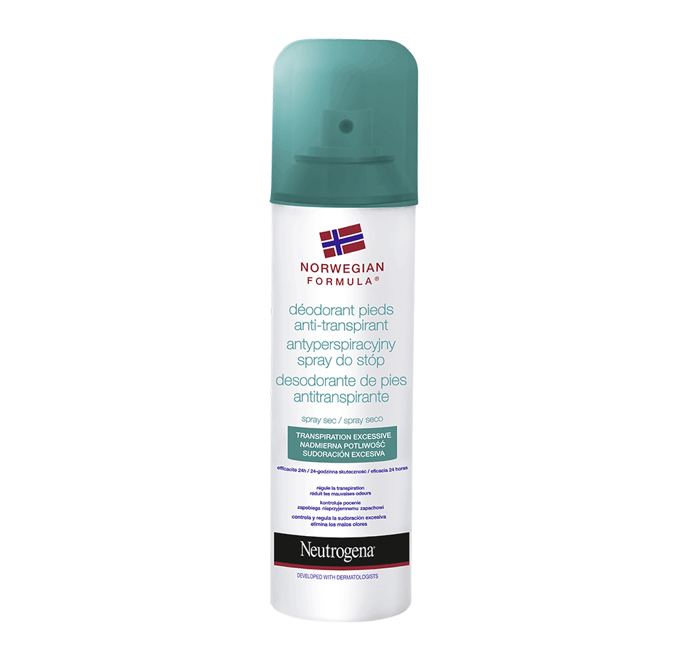 Voetdeodorant Antitranspiratie