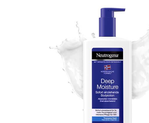 Neutrogena® verzorging voor droge en gevoelige huid
